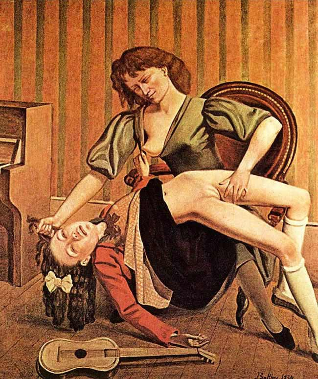 guitar lesson - balthus art